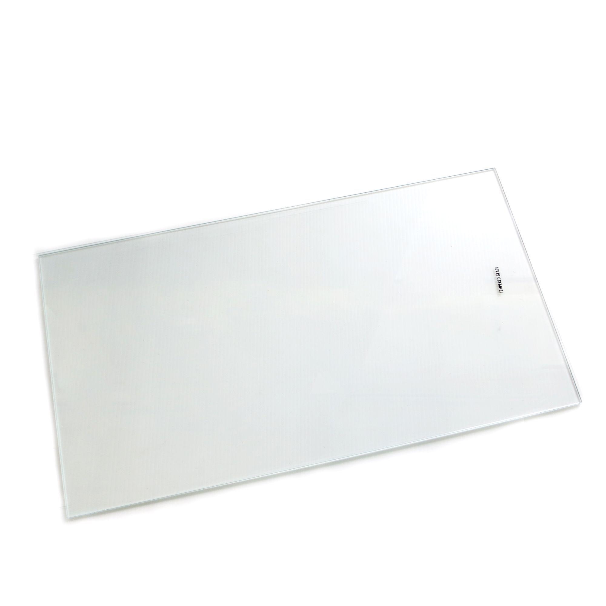 Clear Internal Glass Kitchen Cabinet Shelves (l)458mm (d)247mm, Pack Of 2