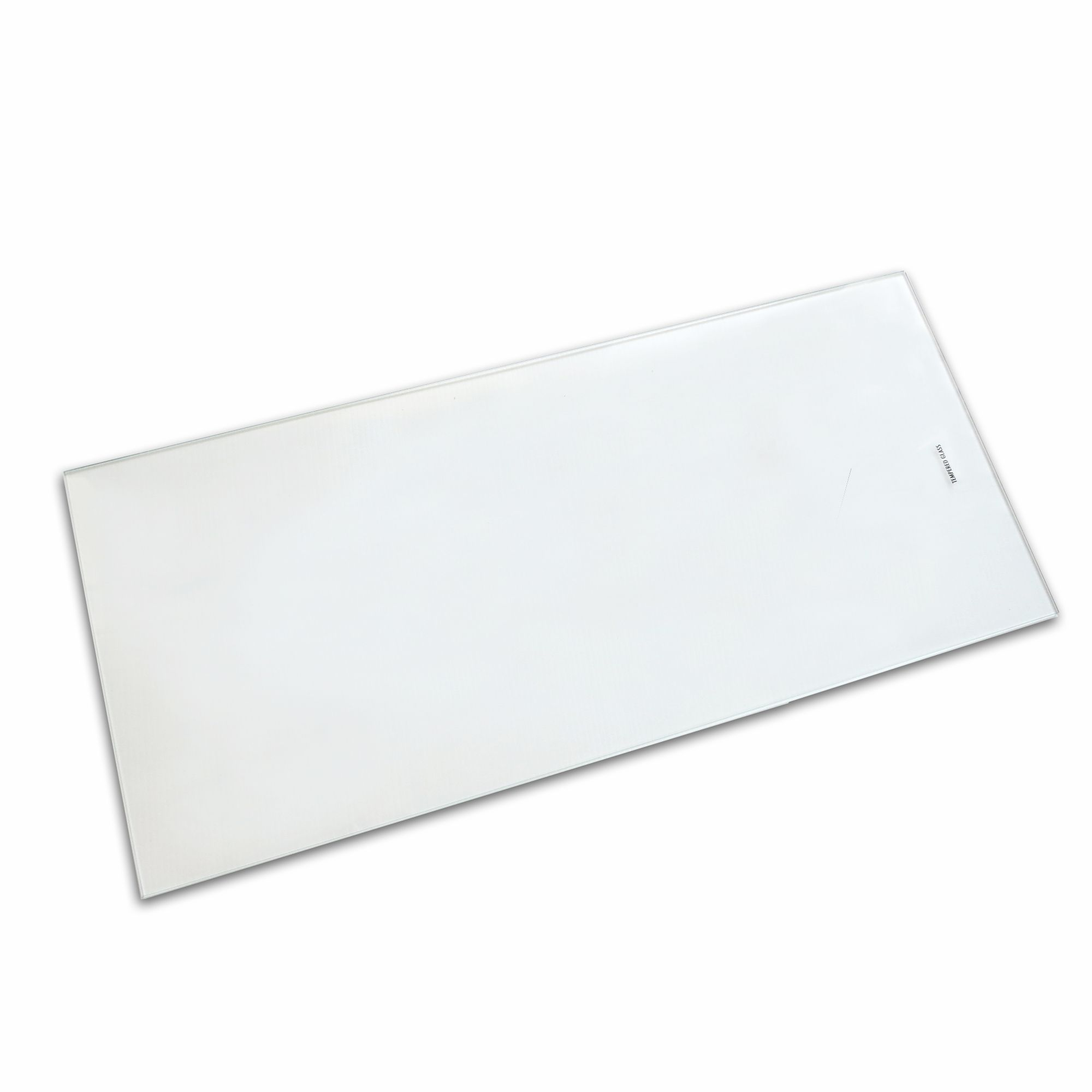 Clear Internal Glass Kitchen Cabinet Shelves (l)558mm (d)247mm, Pack Of 2