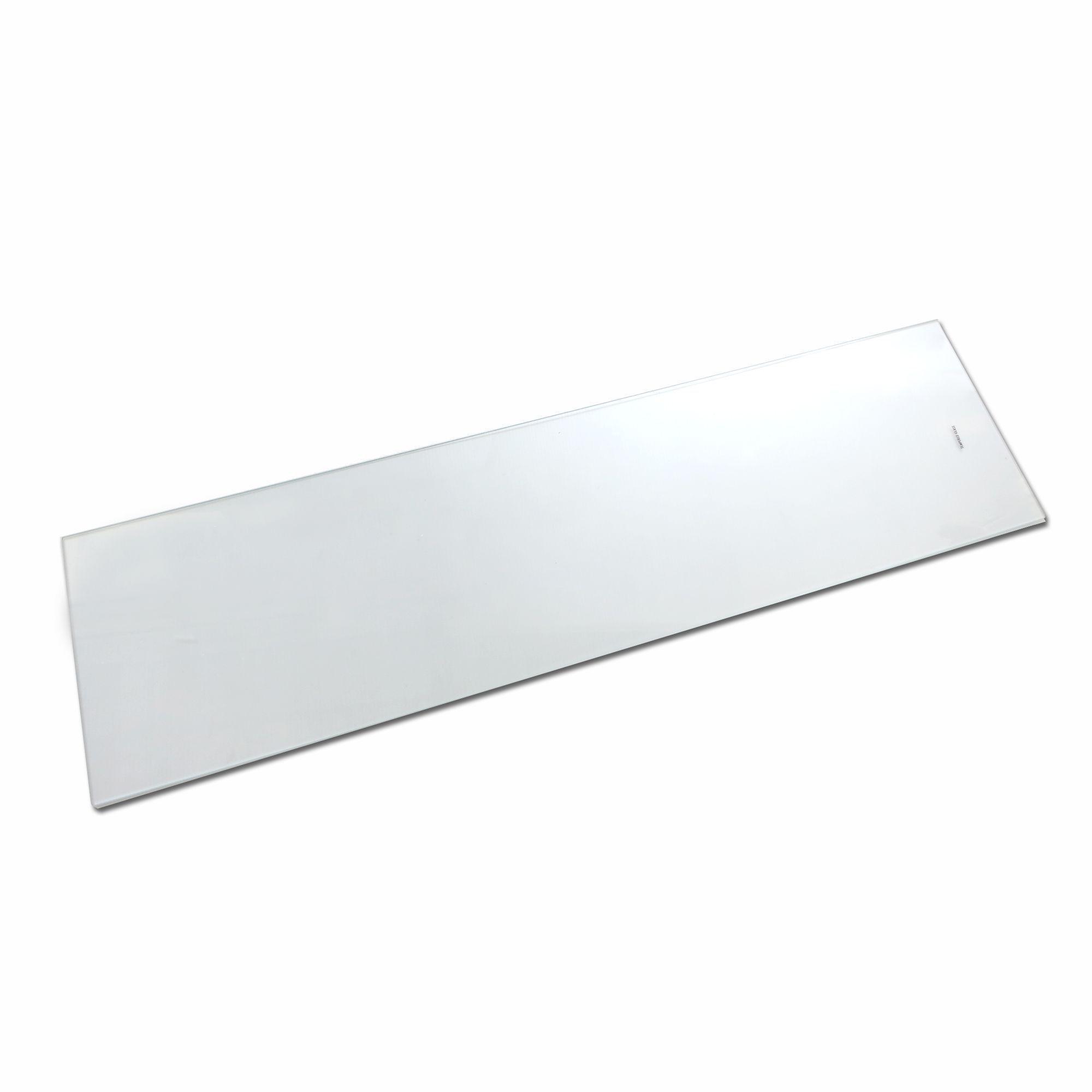 Clear Internal Glass Kitchen Cabinet Shelves (l)958mm (d)247mm, Pack Of 2