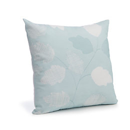 Centola Leaves Duck Egg Cushion