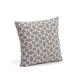 Edeva Diamond Jacquard Grey Cushion