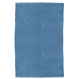 Cooke & Lewis Olson Warm Blue Popcorn Cotton