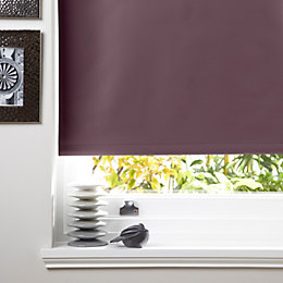 Colours Kona Corded Blueberry Roller Blind (L)160cm (W)180cm