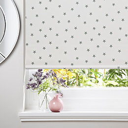 Colours Aniya Corded Cream Blackout Roller Blind (L)160cm