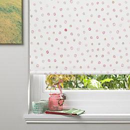 Colours Alisse Corded Pink Blackout Roller Blind (L)160cm