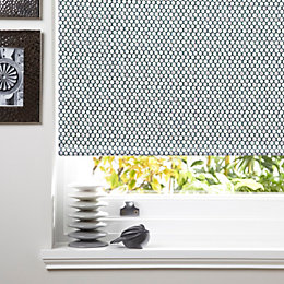 Colours Belarmina Corded Grey Blackout Roller Blind (L)160cm