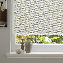 Colours Belarmina Corded Cream Blackout Roller Blind (L)160