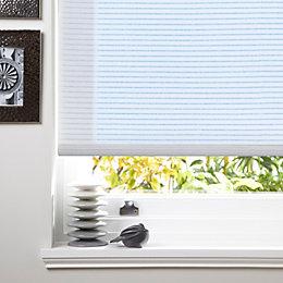 Colours Alexsa Corded White Roller Blind (L)160cm (W)60cm