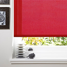 Colours Alexsa Corded Red Roller Blind (L)160cm (W)90cm