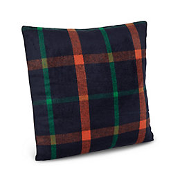 Elysa Tartan Blue Cushion