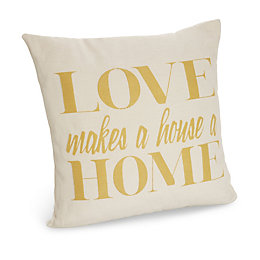 Cascina Love Makes A Home Cream Cushion