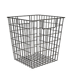 Form Black Wire Storage Cube Basket (W)310mm