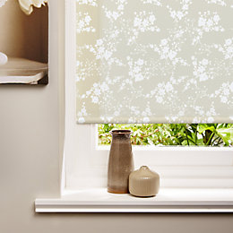 Colours Aliaia Corded Cream Roller Blind (L)160cm (W)60cm