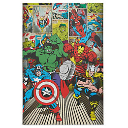 Marvel Avenger Multicolour Canvas (W)600mm (H)900mm