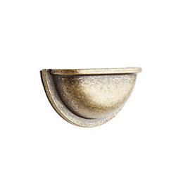 B&Q Antique Brass Shell Cabinet Handle