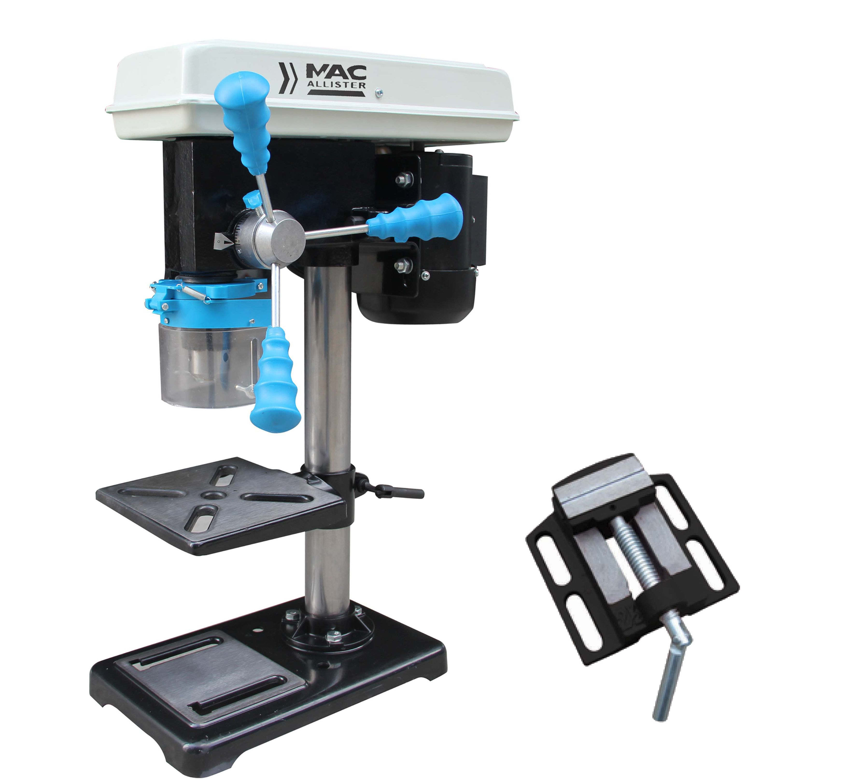 mac allister 500w 240v corded pillar drill departments. Black Bedroom Furniture Sets. Home Design Ideas