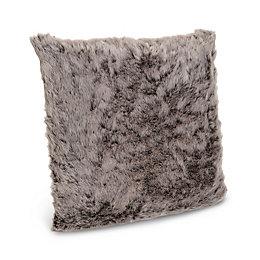 Marcie Faux Fur Grey Cushion