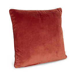 Priya Velvet Orange Cushion