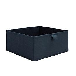 Form Mixxit Navy Half Height Storage Box (W)310mm