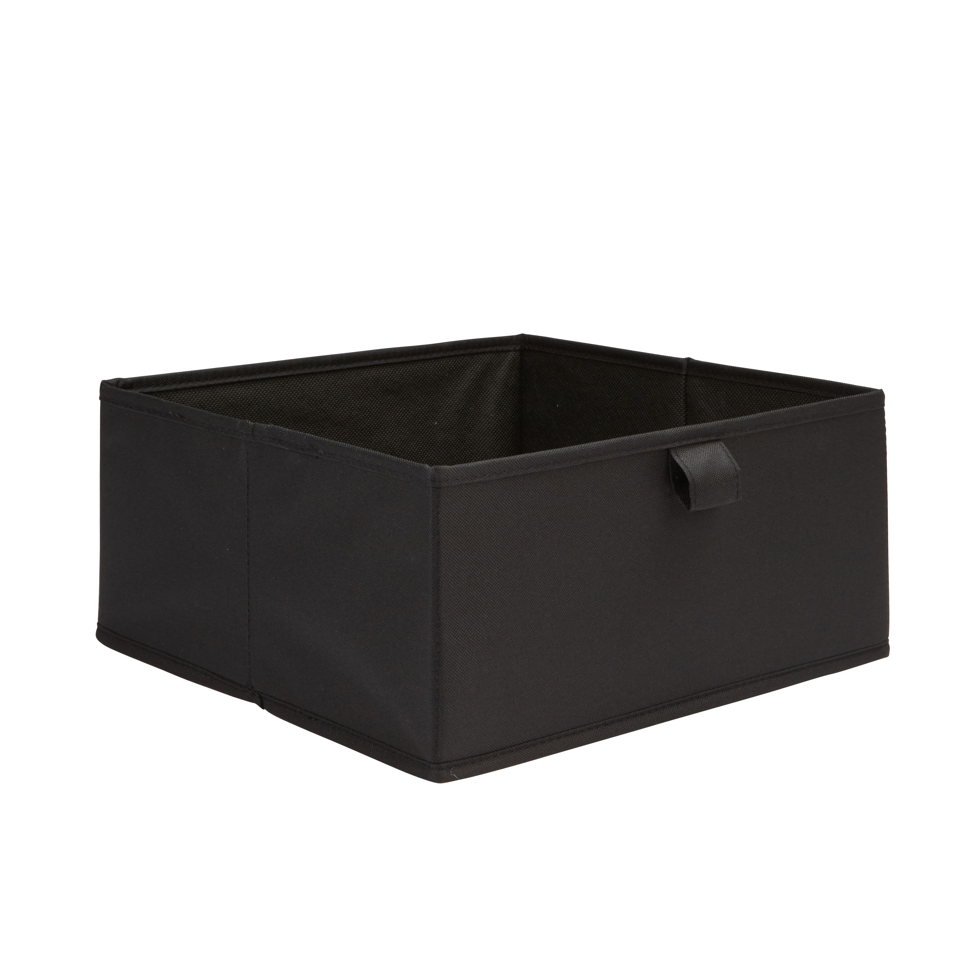 Form Mixxit Black Half Height Storage Box (w)310mm