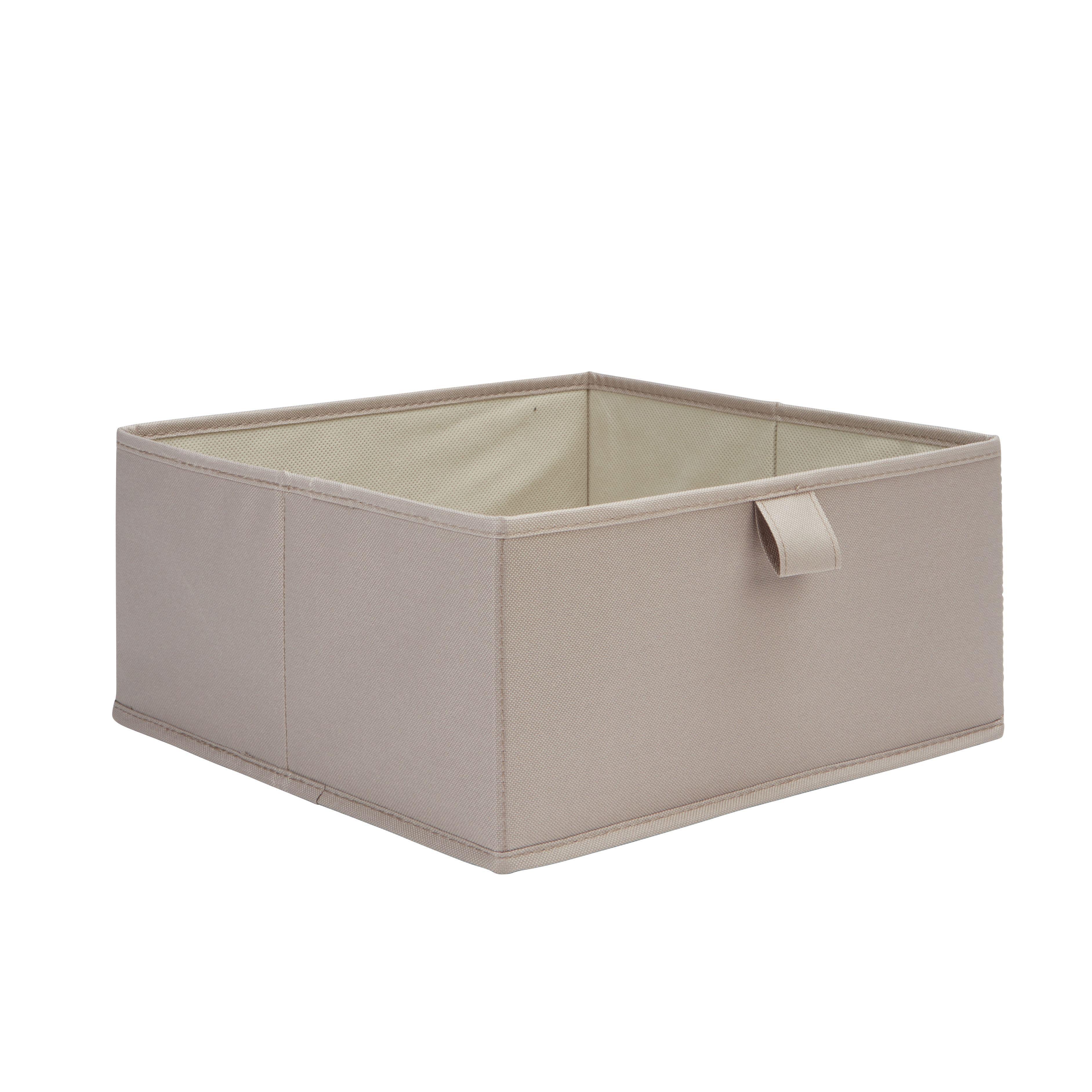 Form Mixxit Taupe Half Height Storage Box (w)310mm