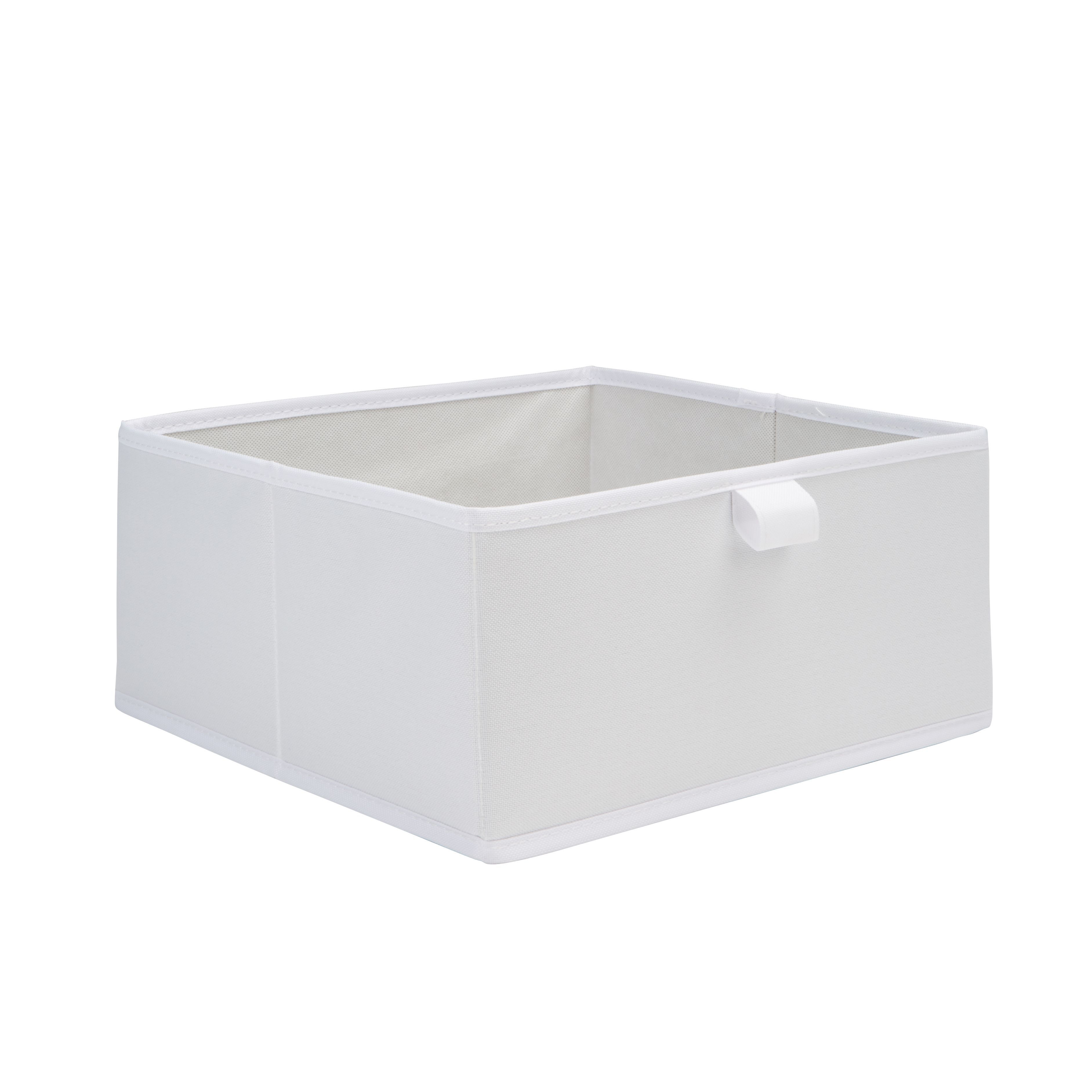 Form Mixxit White Half Height Storage Box (w)310mm