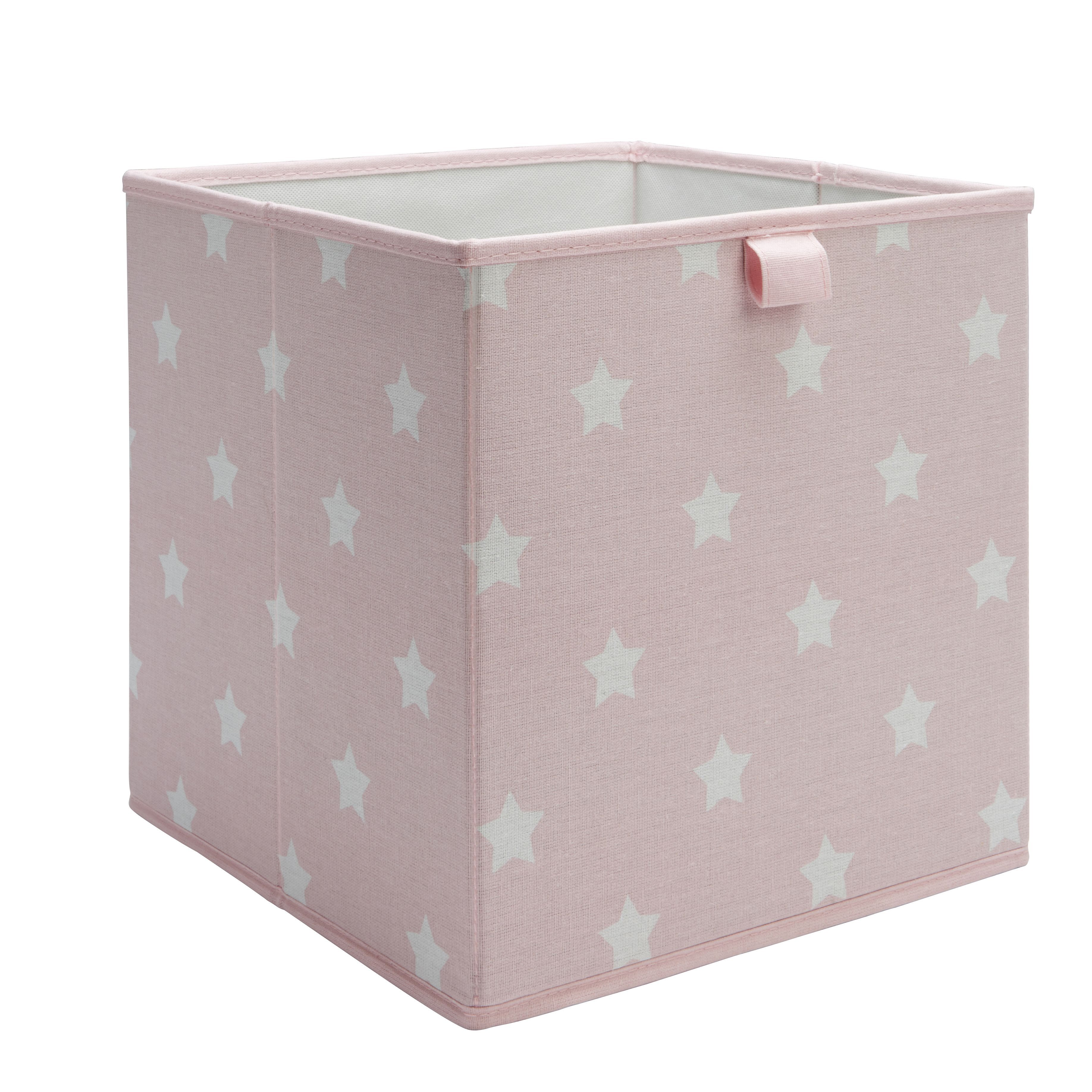 Form Mixxit Pink & White Star Storage Basket (w)310mm