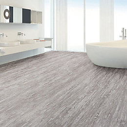 Grey Natural Stone Effect Waterproof Luxury Vinyl Click
