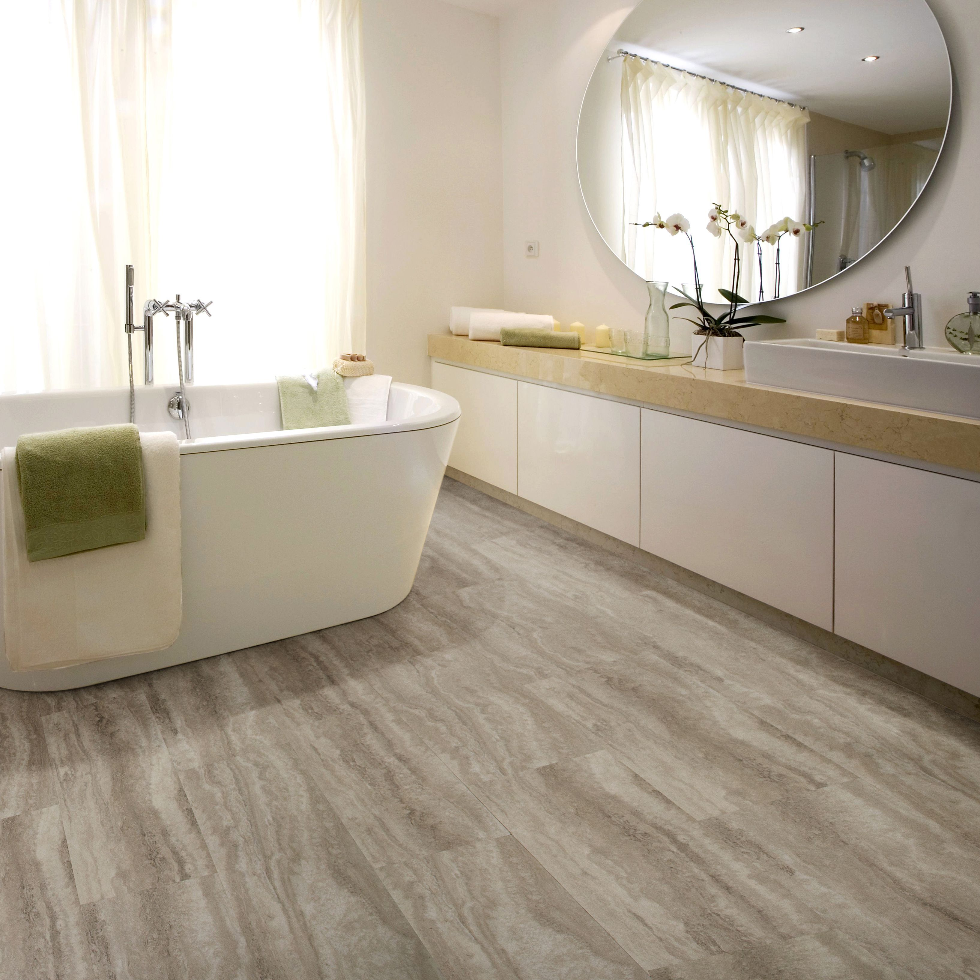 Sand Effect Waterproof Luxury Vinyl Click Flooring Pack 2