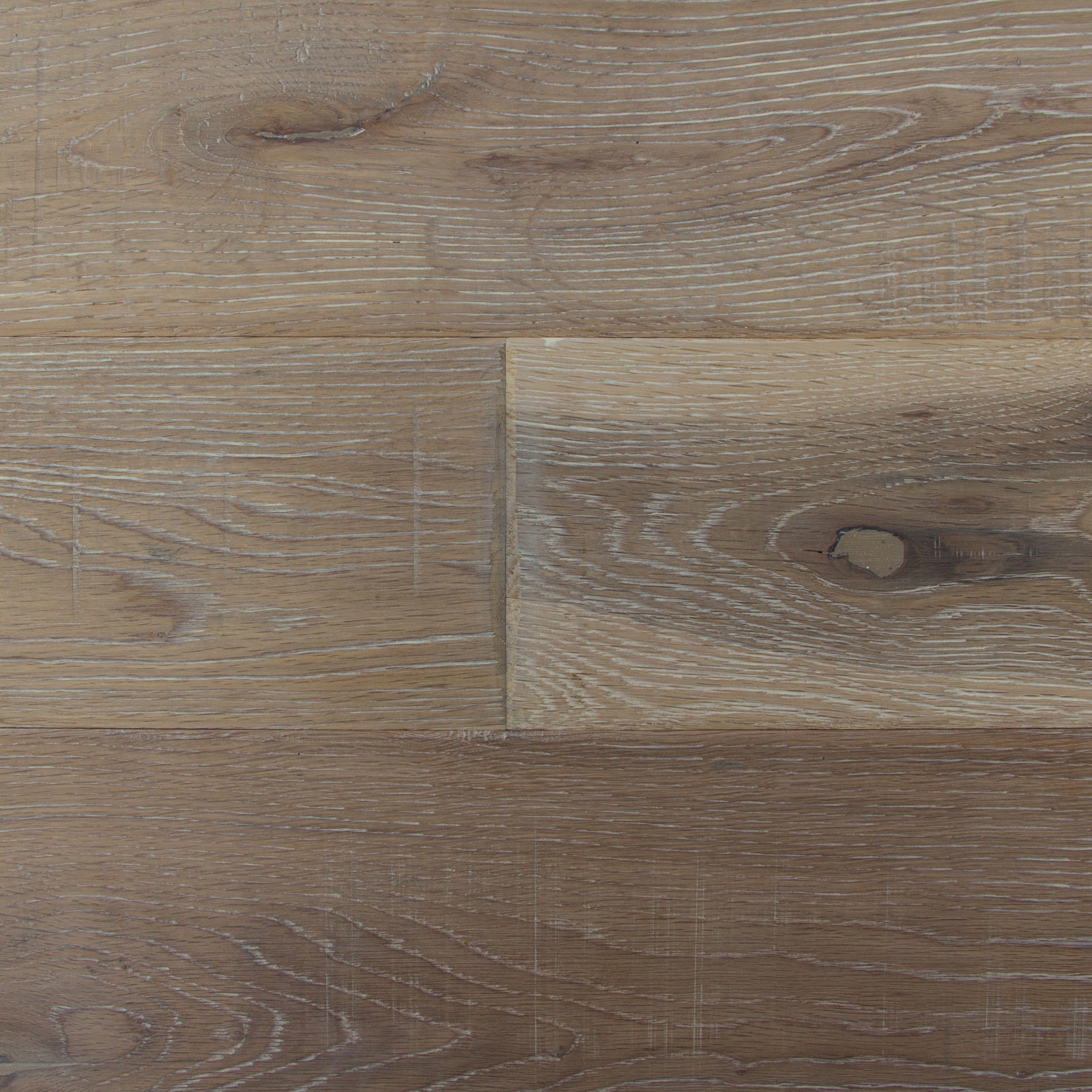Colours Soren Antique Ash Solid Oak Flooring Oak Effect 1.48 M² Pack