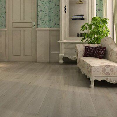Colours Harmony Natural Unfinished Solid Oak Flooring Oak Effect 1.008 M² Pack