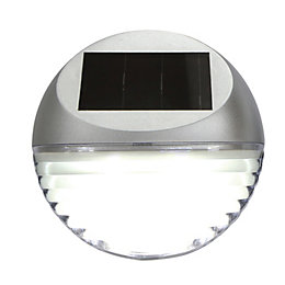 Blooma Nereides Silver Solar Powered External Fence Light