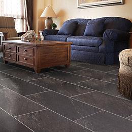 Natural Stone Effect Waterproof Luxury Vinyl Click Flooring