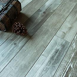 Imelda Driftwood Pine Effect Laminate Flooring 0.38 m²