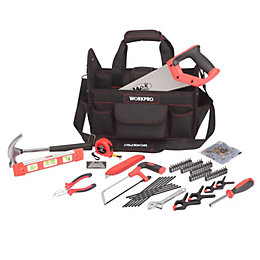 WorkPro 74 Piece Tool Kit