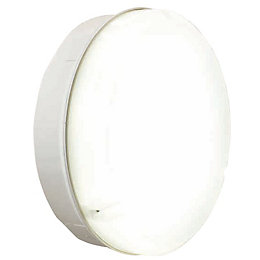 Blooma Auriga White Bulkhead Wall Light