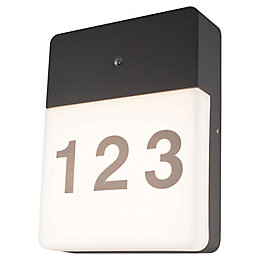 Blooma Burnet Grey Mains Powered External Door Number