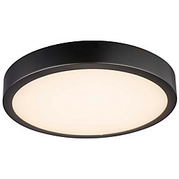 Jenner Plastic Black External Wall Light