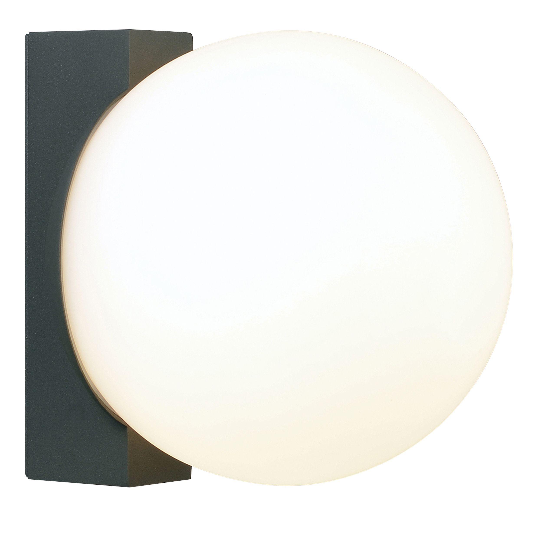 Blooma Devera Black Mains Powered External Wall Light