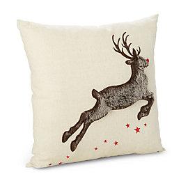 Camari Reindeer Brown Cushion