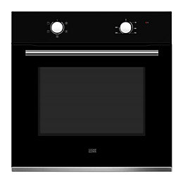 Cooke & Lewis CLFNBK60 Black Electric Single Oven
