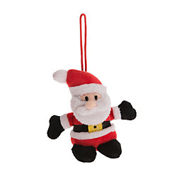 Battery Operated Santa Squeezer Christmas Friend