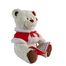 Battery Operated Story Telling Teddy Bear Christmas Friend