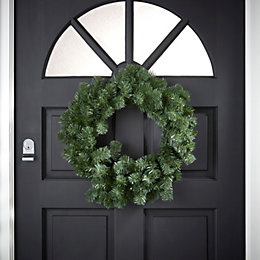Woodland Pine Green Wreath, (D)500mm