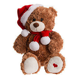 Battery Operated Talk Back Teddy Bear Christmas Friend