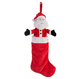 Battery Operated Santa Stocking