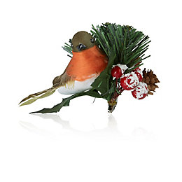Robin & Floristry Tree Decoration