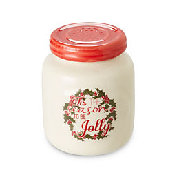 Tis The Season Cranberry Woods Jar Candle