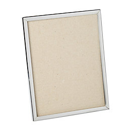 Silver Plated Effect Single Frame Metal Picture Frame