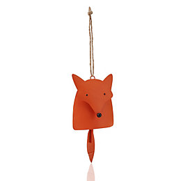 Fox with Bell Tail Tree Decoration